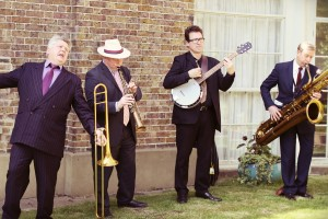 Street Band For Hire: performing for a wedding as a four piece.