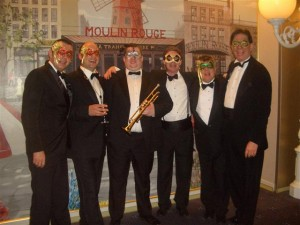 Cruise Shp Band. Masked Ball