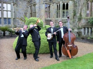 Jazz band Surrey hire. Nymans in Surrey