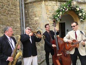 <strong>Swing Band Hire London-Acoustic Jazz for the reception</strong>