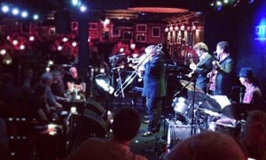 London Jazz Band Hire. The Mississippi Swamp Dogs performing at Ronnie Scott's internationally renowned Jazz club
