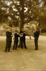 1920's Jazz band hire London.